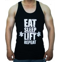 Áo 3 lỗ - Eat Sleep Lift Repeat